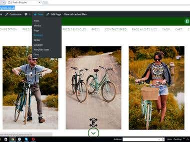 Fix to Wordpress site