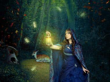 Magic photomanipulation