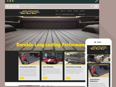 CCC Wordpress Website - responsive