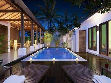 Blue night Villa