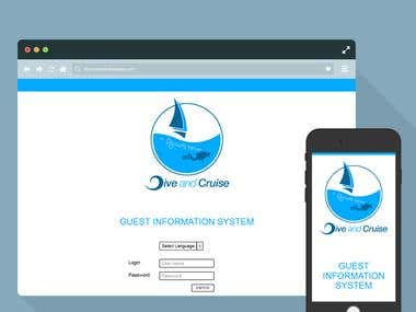 Dive & Cruise - Codeignitor App