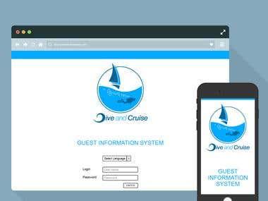 Dive & Cruise - Codeignitor App