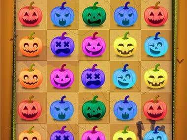 Happy Halloween Unity game