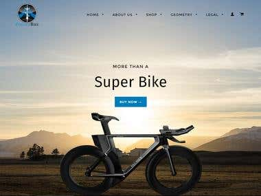 Triathlon bikes manufacturer website