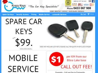Krazy Keys - Local SEO & SMO
