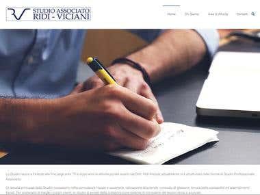 Studio Ridi Viciani website