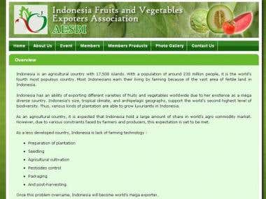 Indonesian Fruits and Vegetables Exporters Association