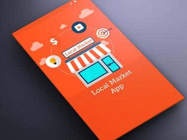 Local Market App - Layout Design