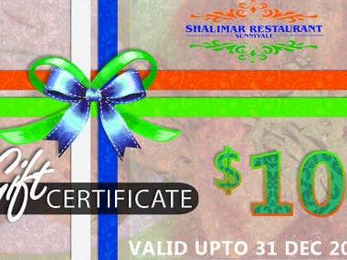 Shalimar restaurant in US