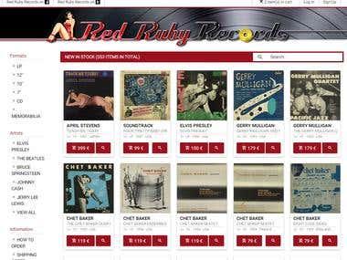 RedRubyRecords.com
