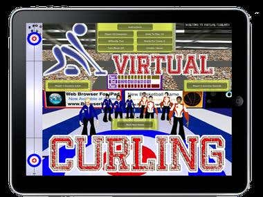 Virtual Curling (iPad game)