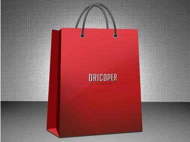 Dricoper Bag Design with Logo