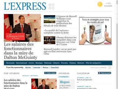 L'Express de Toronto