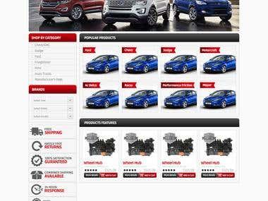 National Fleet Magento Website Design & Development