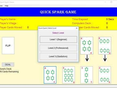 QuickSpark (A simple card game)