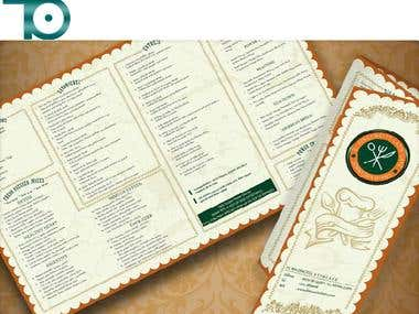 Menu Book Design 1