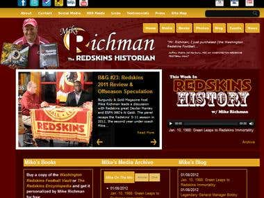 Redskins Historian