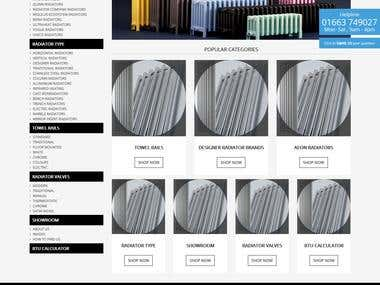 Radiator website