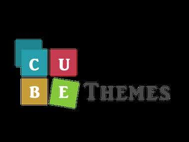 Cube Themes Logo, Banner and Icon Design