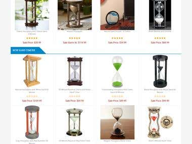 Justhour Glass - an eCommerce portal