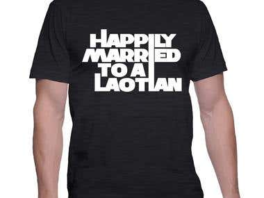 Typographic t-shirts portfolio