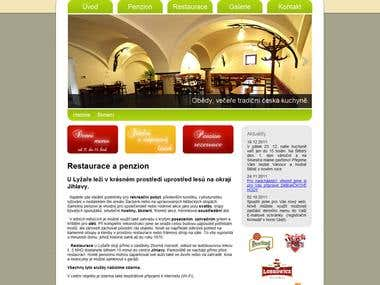 """Restaurant and Pension """"U lyzare"""""""