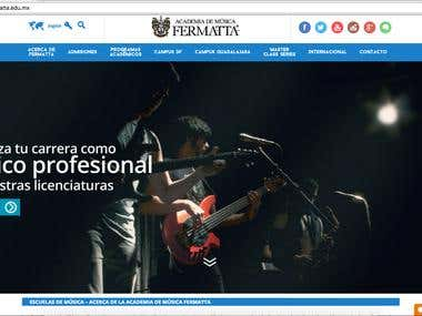 Fermatta.edu.mx Website Migration and Re-Design