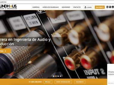 Sound Haus Institute website