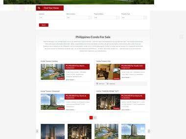 Wordpress Development - Real Estate website