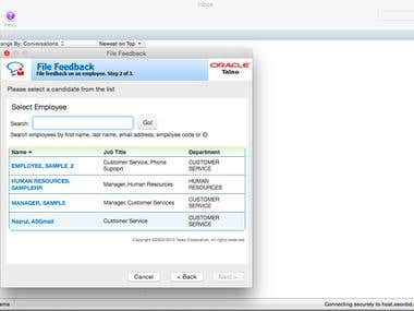 Taleo (A job recruitment outlook plugin of Oracle Corp. )
