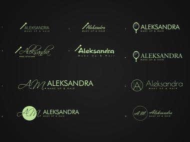 Logo (Aleksandra Make Up)
