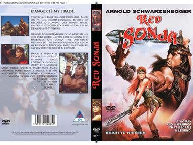 Red Sonja DVD Cover