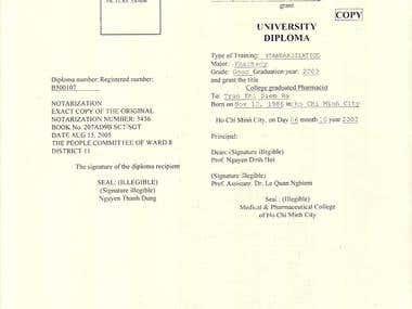 University of medicine and pharmacy