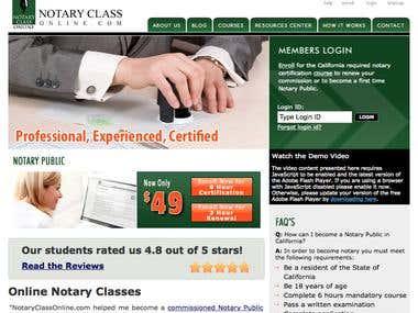 Notary Class Online