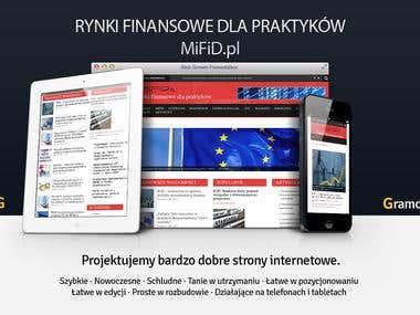 Strona internetowa · Rynki finansowe