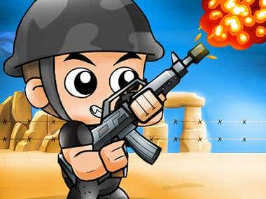 Captain War :  Zombie Killer Smartphone Game