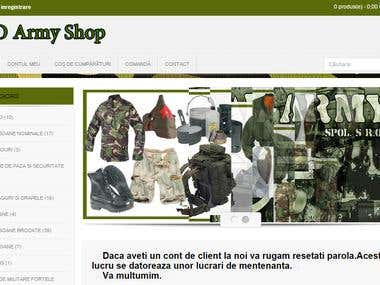 Ro Army Shop