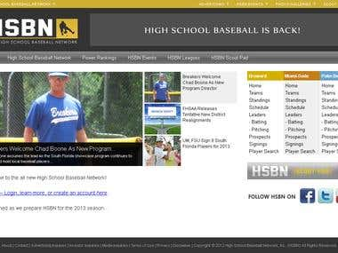 High School Baseball Network