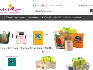 Magento based ecommerce store.