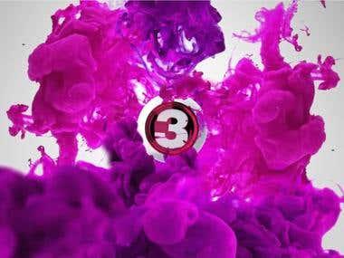 Branding ID TV3 for Denmark