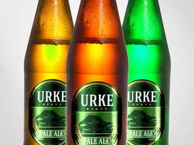 Urke Beer Label