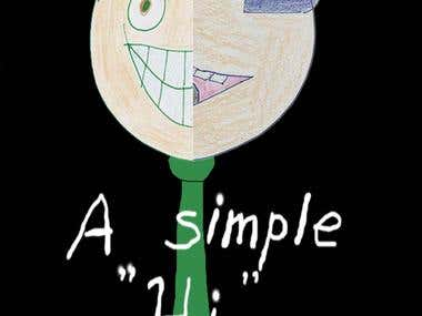 "Poster for ""A Simple \""Hi\""\"""