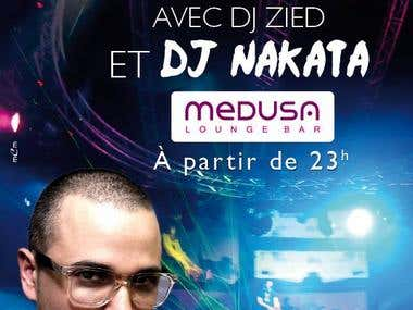 Flyer DJ NAKATA