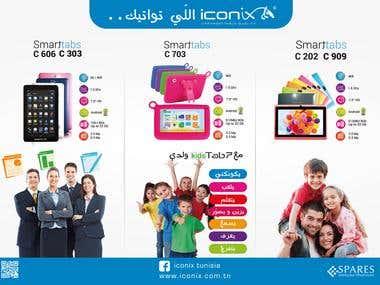 Poster Iconix TAB