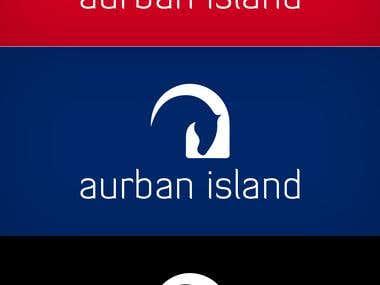 Aurban island logo