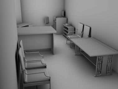 Project, Office Room (Just for Fun)