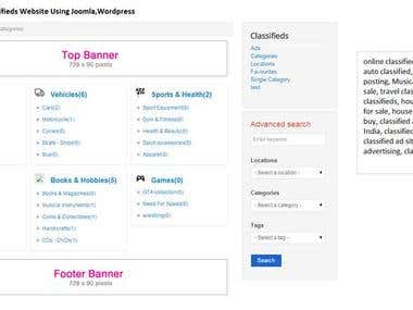E Commerce for classifieds