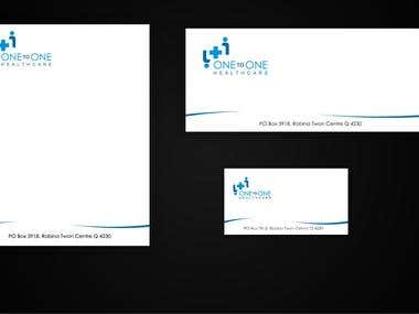 Example of stationery Design