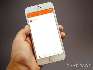 Chat app design