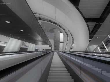 Admiralty Train Station Hong Kong (screencaptures from VR)